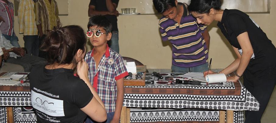 Optimum Vision Clinic trip to Jodhpur